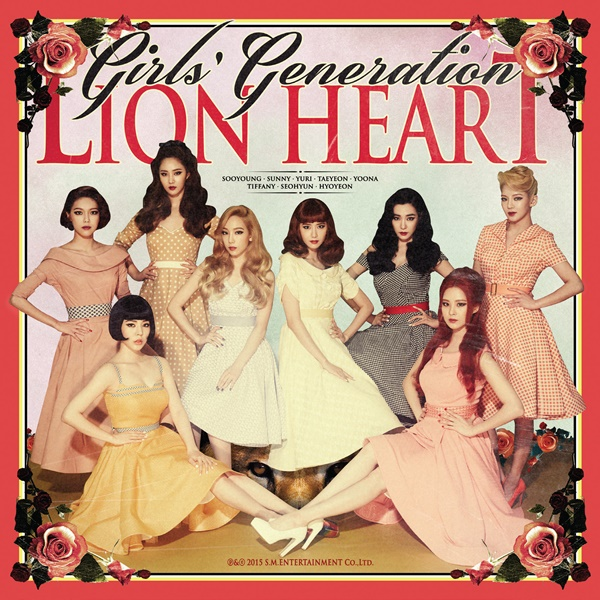 Girls' Generation - Album Vol.5 [Lion Heart]