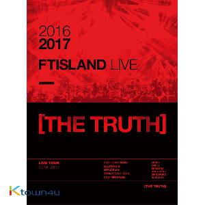 [DVD] 에프티아일랜드 - 2016-2017 FTISLAND LIVE [THE TRUTH] DVD