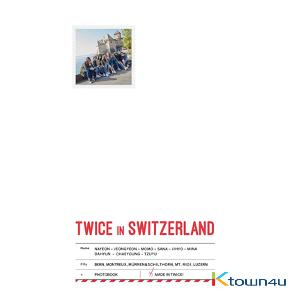 [포토북] 트와이스 - TWICE TV5 TWICE in SWITZERLAND PHOTOBOOK
