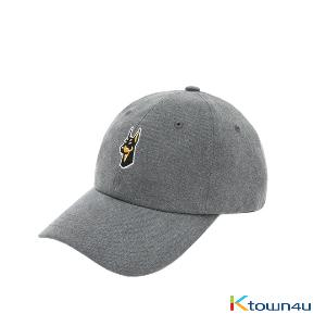 NONA9ON - [ACC] WELCOME TO THE YEAR OF DOG EMBROIDERED PIGMENT WASHED COTTON BALLCAP (D/GY)