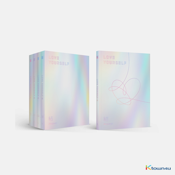BTS - Repackage Album [LOVE YOURSELF 結 'Answer']