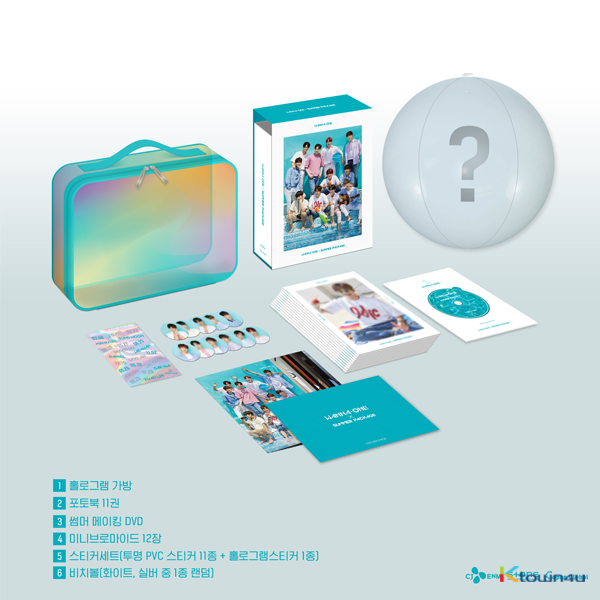 [DVD] 워너원 -  WANNA-ONE X SUMMER PACKAGE