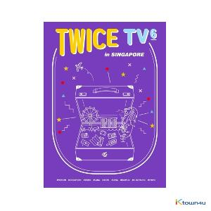 [DVD] 트와이스 - TWICE TV6 TWICE in Singapore DVD
