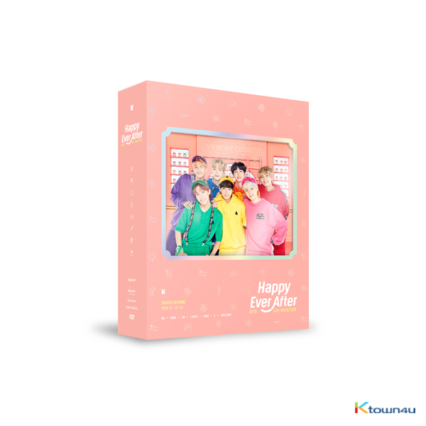 [DVD] BTS - BTS 4th MUSTER [Happy Ever After] DVD