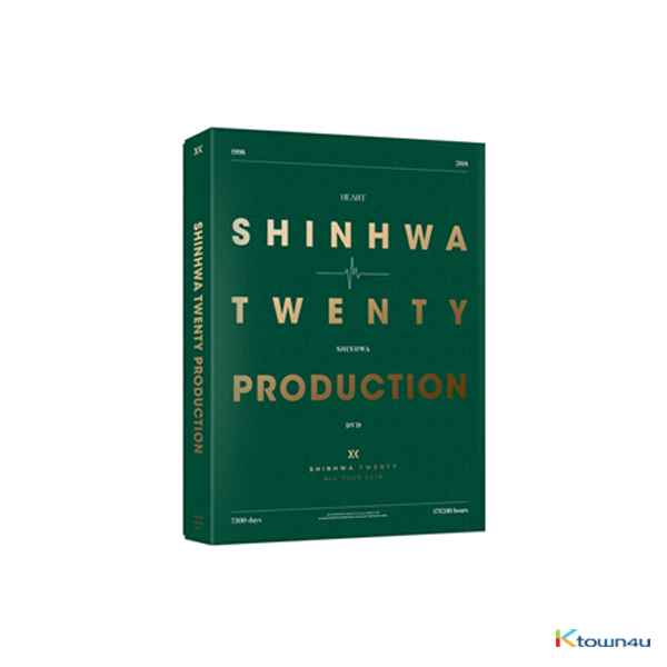[DVD] 신화 - SHINHWA 20th Anniversary PRODUCTION DVD