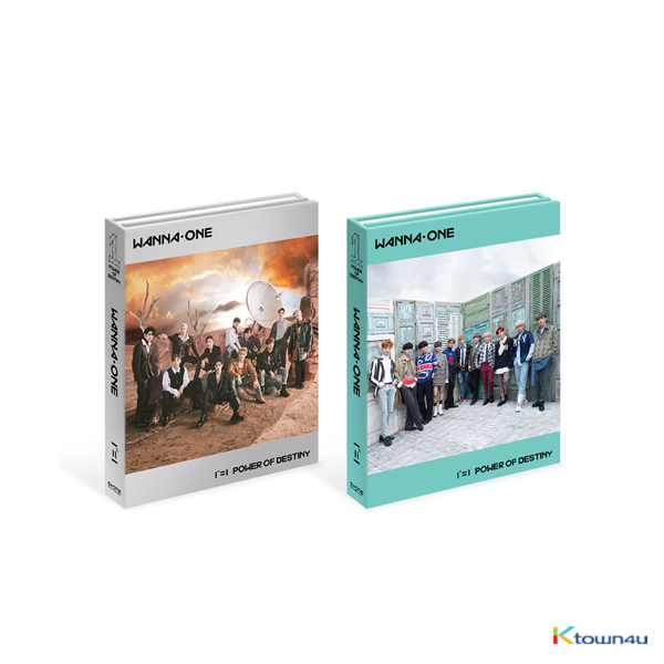 WANNA ONE - Album Vol.1 [1¹¹=1 (POWER OF DESTINY)]