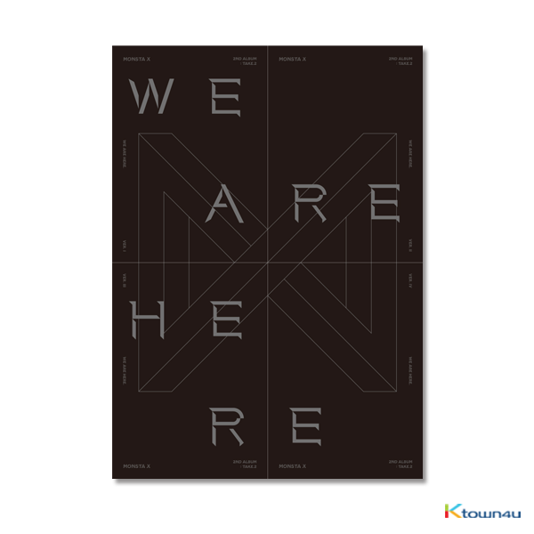 MONSTA X - Album Vol.2 TAKE.2 [WE ARE HERE]