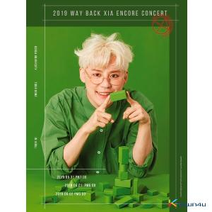 준수(XIA) - 2019 WAY BACK XIA ENCORE CONCERT DVD