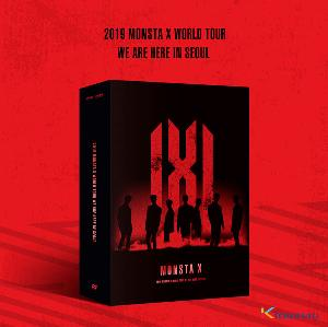[DVD] 몬스타엑스 - 2019 MONSTA X WORLD TOUR [WE ARE HERE] IN SEOUL DVD