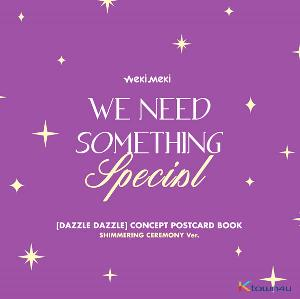 위키미키 - 디지털 싱글 'DAZZLE DAZZLE' OFFICIAL MD [CONCEPT POSTCARD BOOK] (SHIMMERING CEREMONY 버전)
