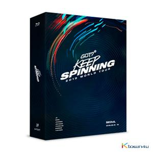 [블루레이] 갓세븐 - GOT7 2019 WORLD TOUR 'KEEP SPINNING' IN SEOUL BLU-RAY