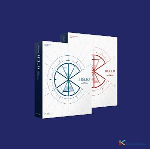 [세트상품][2CD 세트상품] CIX - EP앨범 3집 [HELLO Chapter 3. Hello, Strange Time] (Hello 버전 + Strange Time 버전)