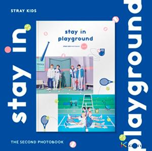 [화보집] 스트레이키즈 - STRAY KIDS 2nd PHOTOBOOK [stay in playground]