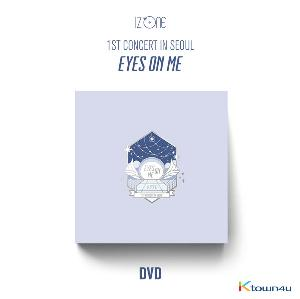 [DVD] 아이즈원 - 1ST CONCERT IN SEOUL [EYES ON ME] DVD