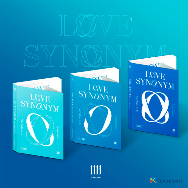 [3CD 세트상품] 원호 - 미니앨범 1집 Part.2 [Love Synonym #2 : Right for Us] (버전1 + 버전2 + 버전3)